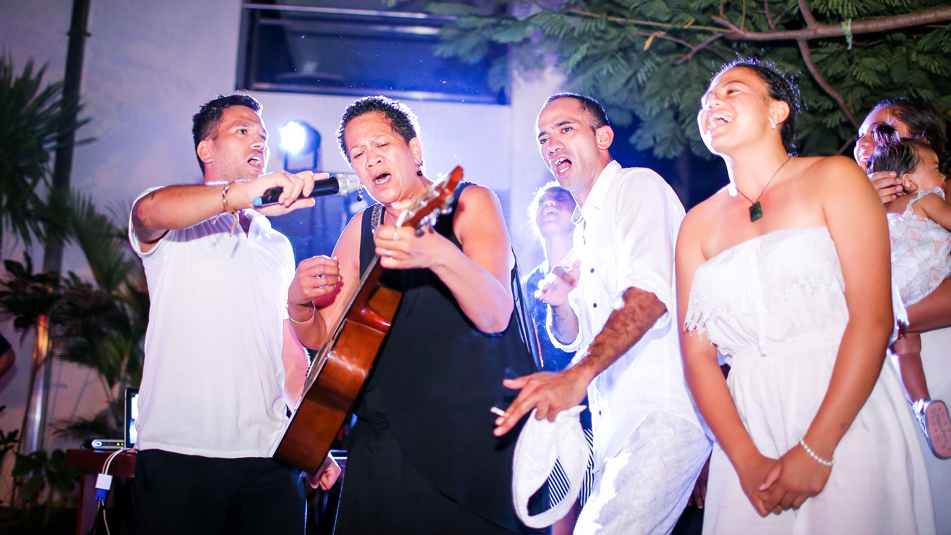 Brian Arohanui's 60th birthday party hold at Peninsula Bay Resort Nusa Dua photos taken by...