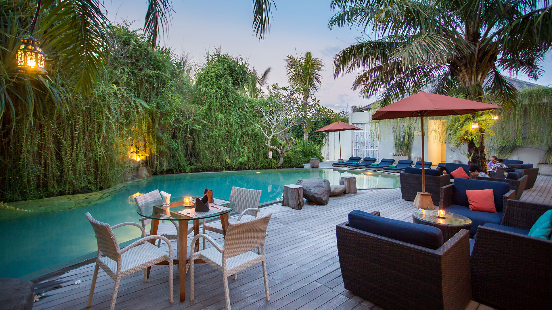 A complex of luxury private villa located in the prime location of Seminyak Bali. This villa has very nice restaurant and bar...