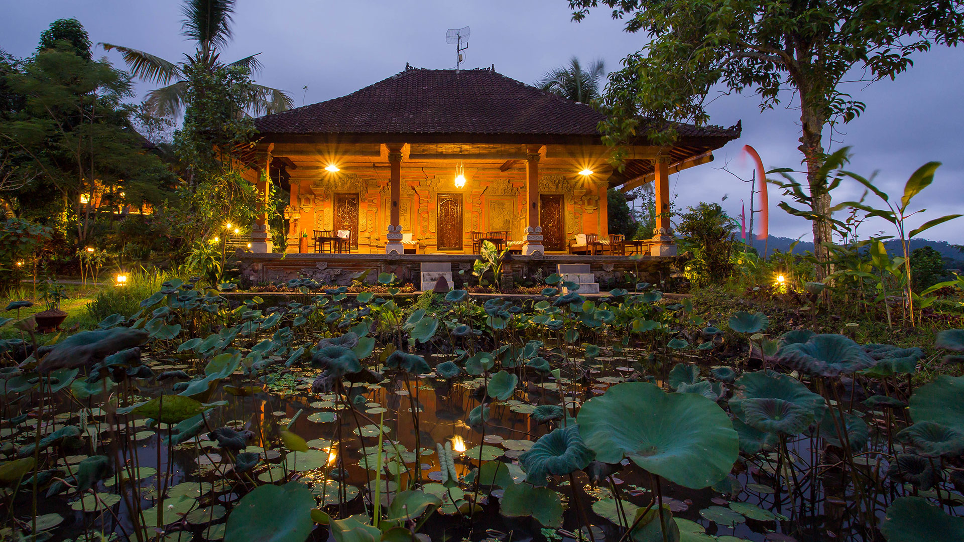 Balinese style retreat consist of 11 villas lies on a hidden greenery paradise of Sidemen, Bali. This amazing villas...