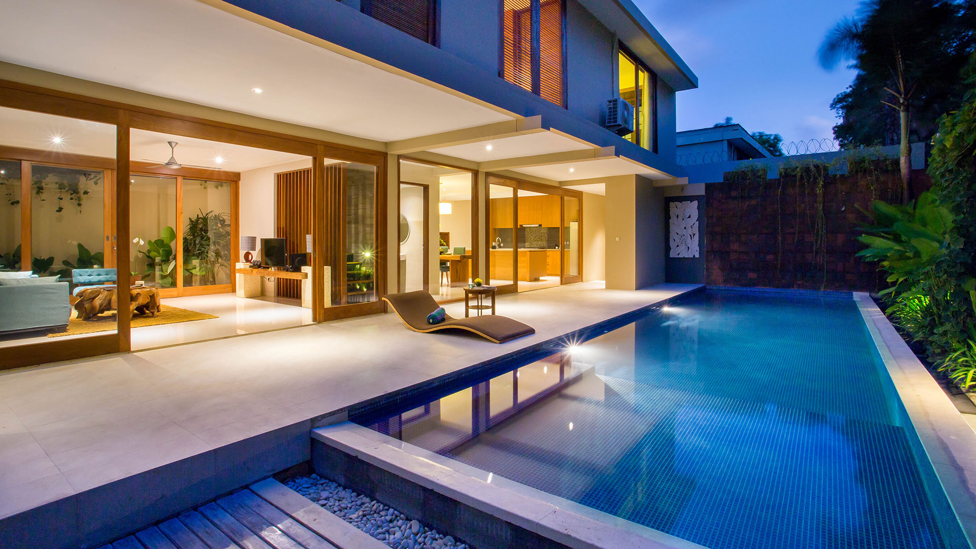 Renovated villas complex with minimalist style both interior and exterior located around Umalas, village of Bule in Bali...