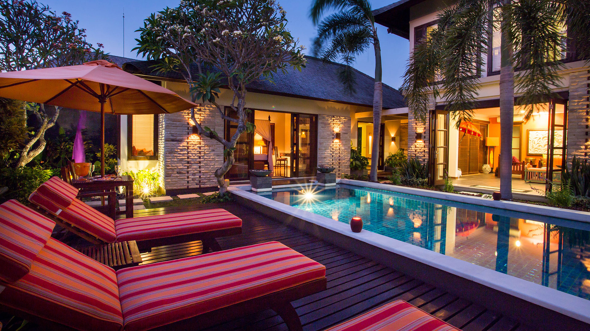 Villa D is one of luxury villas in Bali Baik complex, Seminyak. Owned by American couple, the villa has very beautiful...