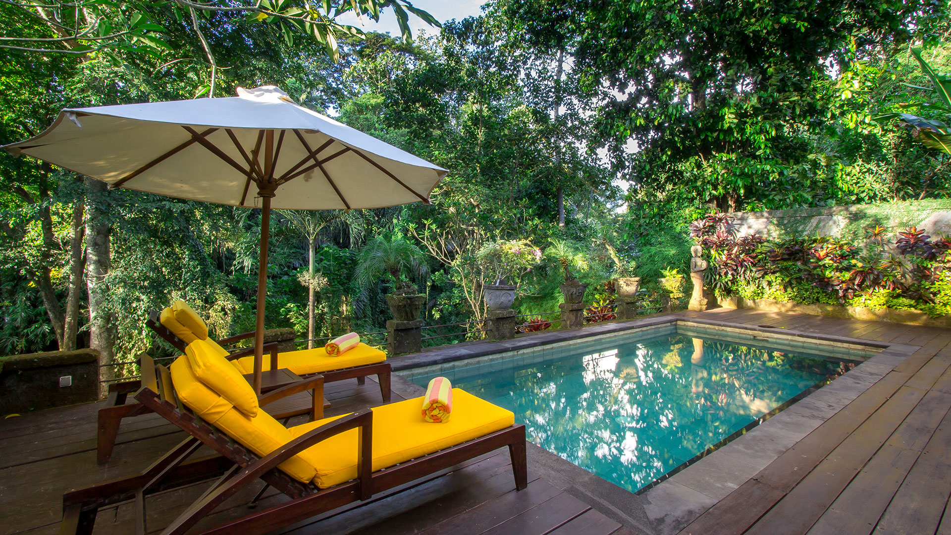 Natural based retreat located in Mengwi, Badung Bali. This villa situated in a quiet place and suitable for those...