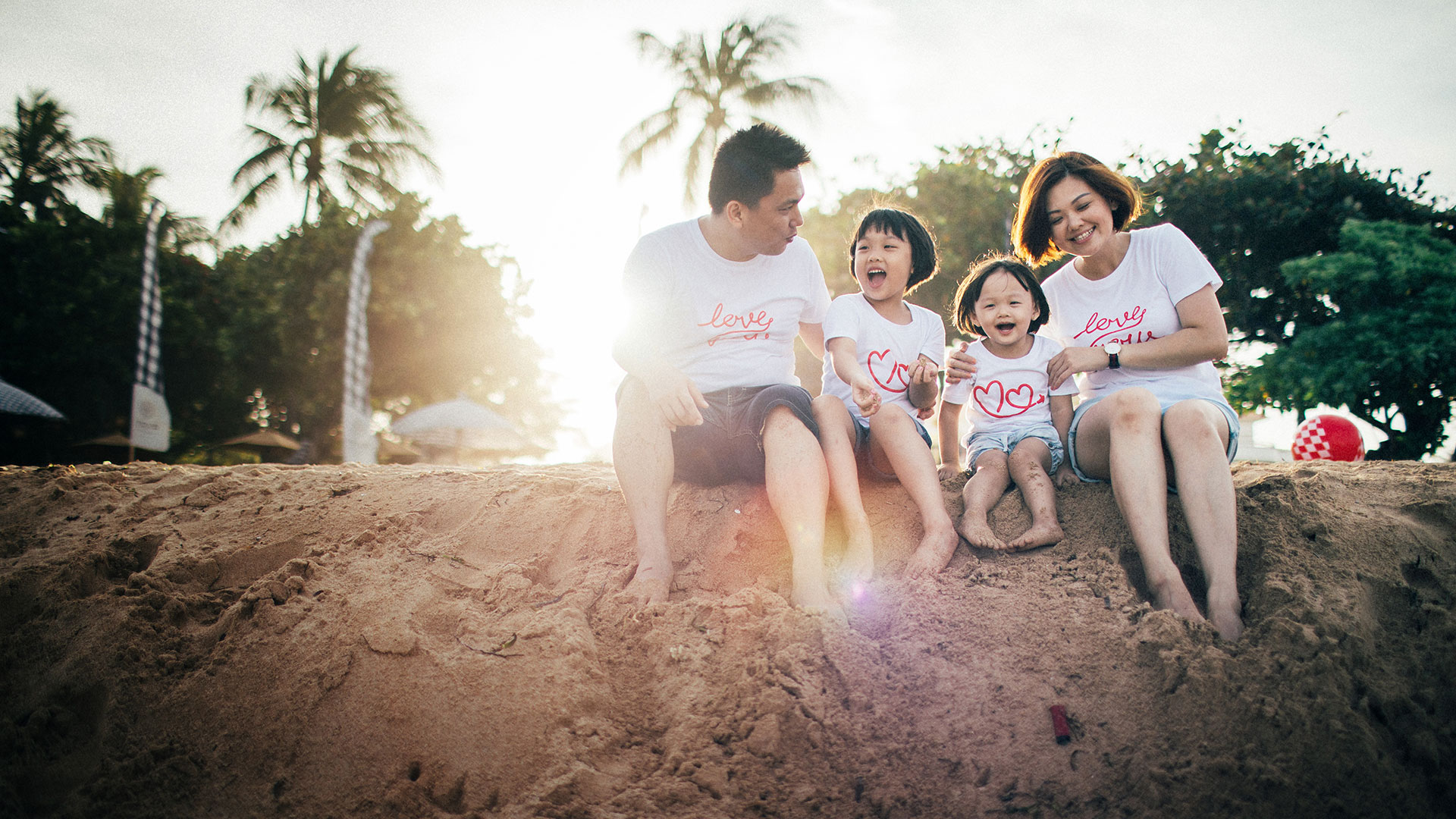 Giokleng, her husband, and 2 sweety girls are a small family from Singapore. They came to Bali for...