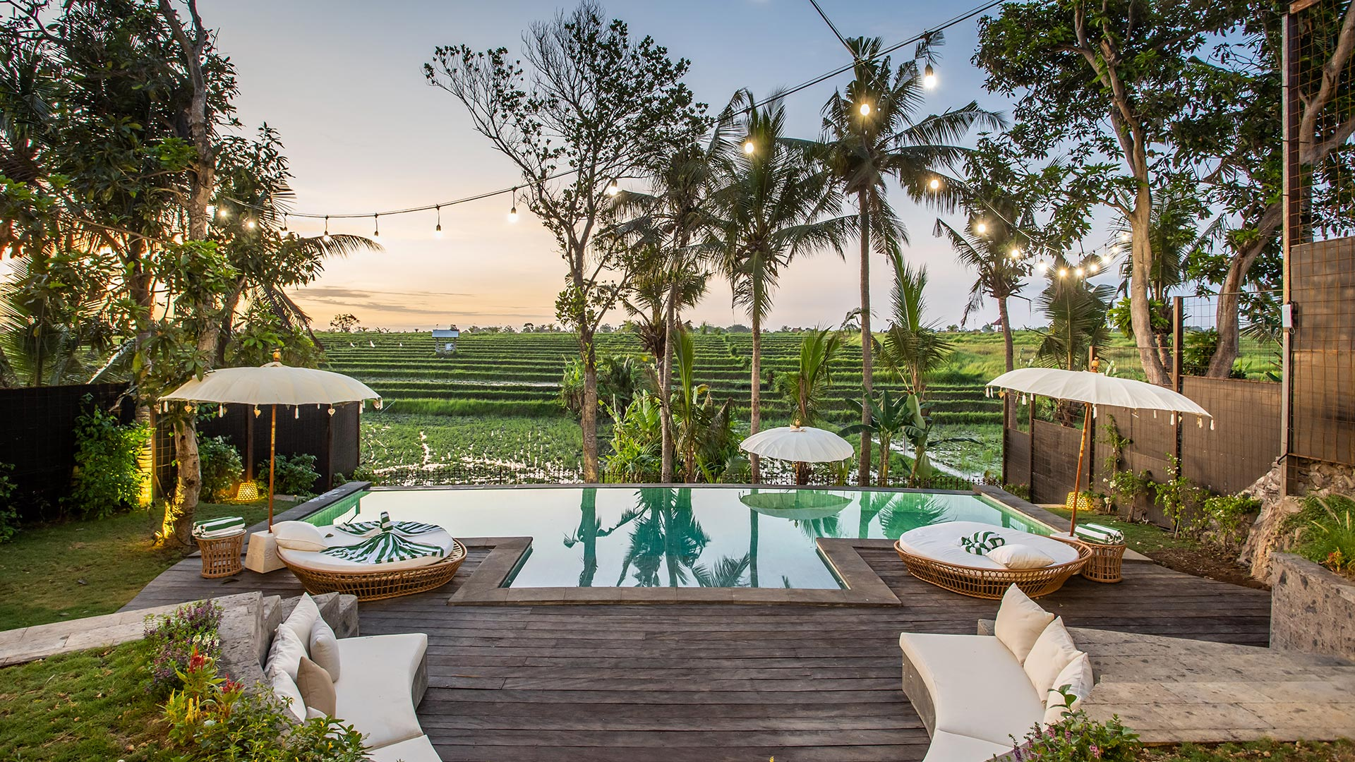 Rimba villas consist of 3 big villas located in Babakan village, Canggu, Bali. This is brand new classic European style...