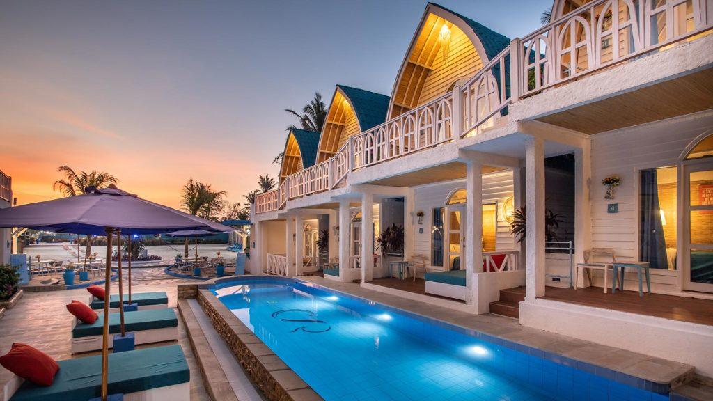 Santorini Resort - Gili Trawangan