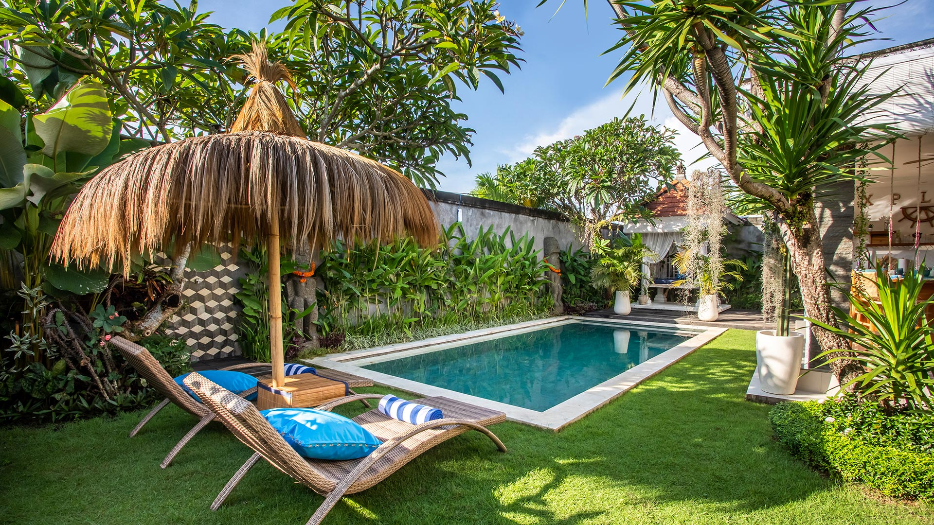 This private villa is located in Berawa, Canggu which is one of the most favorite area at the moment in Bali. Consist of 3 bedroom...