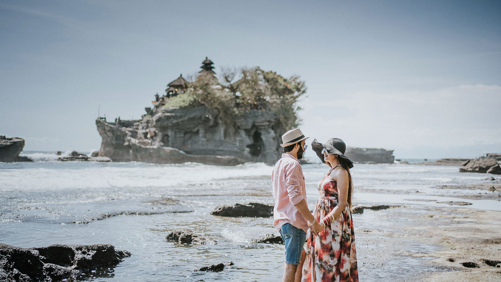 vni and Malhotra are new married couple from India and done their honeymoon in Bali few months ago before the pandemic...