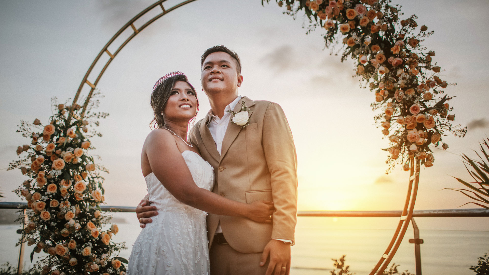 Mikha and Dora are a couple from Jakarta but staying and having job in Bali and the done their wedding in this difficult situation....
