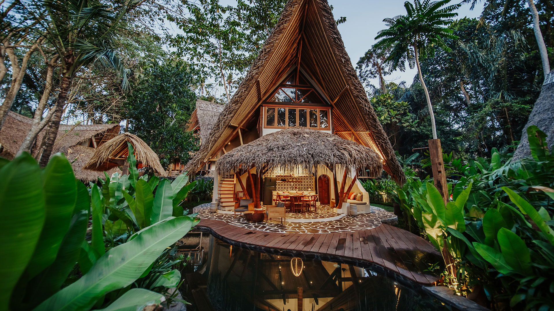 Eco village is one example of beautiful eco friendly villas complex located in rural area called Sibang, nearby Kul Kul Farm and Bali Green School...